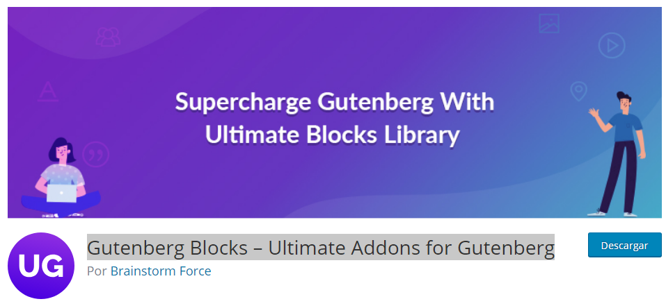Gutenberg Blocks – Ultimate Addons for Gutenberg