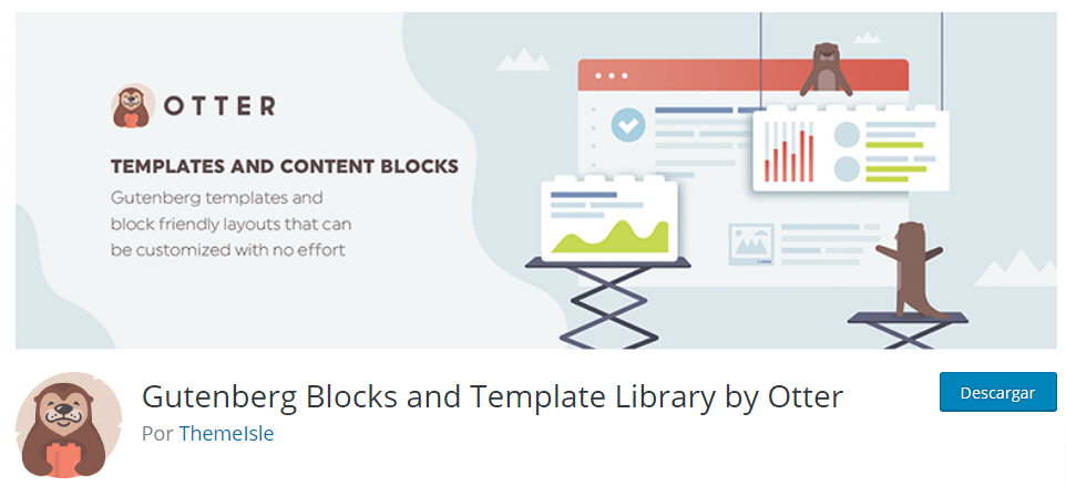 Gutenberg Blocks and Template Library by Otter